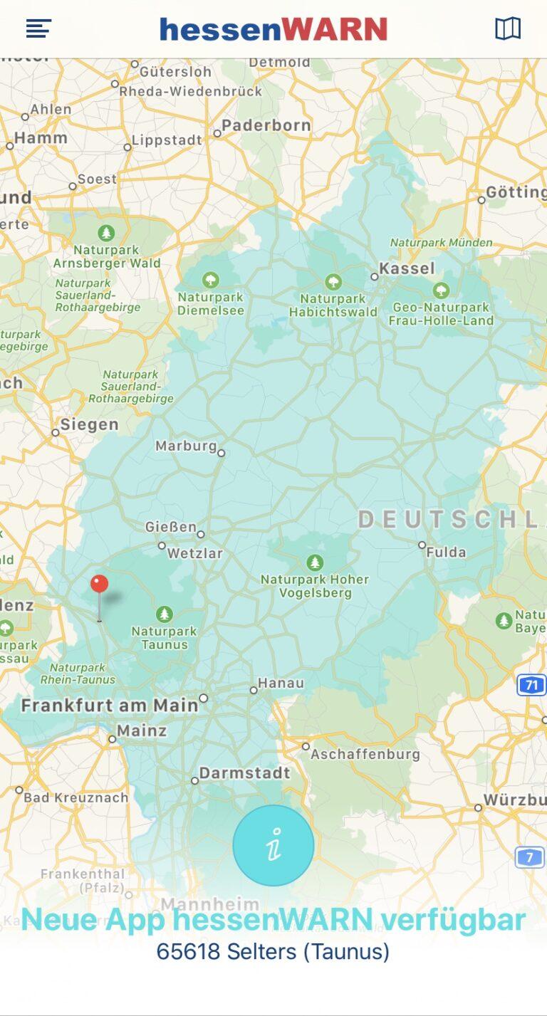 "Read more about the article neue App ""hessenWARN"" verfügbar"
