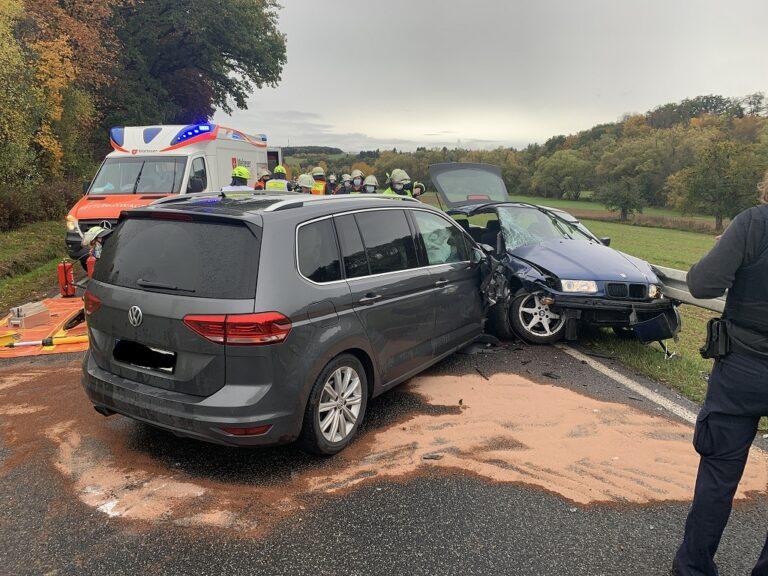 H KLEMM 2 Y – Verkehrsunfall mit mehreren Verletzten